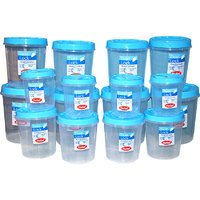 CHETAN 16 PC SET TWIST LOCK KITCHEN CONTAINER @ RPS.1550.00 FREE DELIVERY