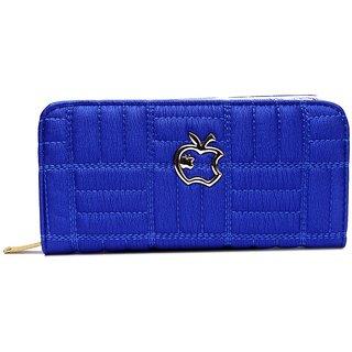 Blue Casual Formal Wallet