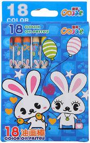 Box Oil Pastels Crayons