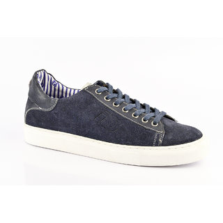 ID Men's Blue Lace Up Casual Shoes