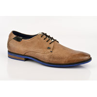ID Men's Tan Lace Up Casual Shoes
