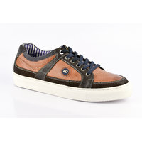 ID Men's Tan & Brown Lace Up Casual Shoes - 101661722