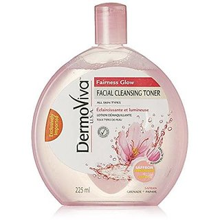 Dermoviva Usa Facial Cleansing Toner-Fairness Glow 225Ml