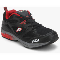 Fila Foot Strike Men's Black,Red Sport Shoes