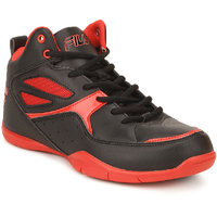 Fila Darbo Men's Black,Red Sport Shoes