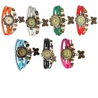 TRUE COLORS COMBO OF SEVENTH HEAVEN Analog Watch - For Girls