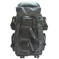 Donex Water Resistant 43 litre Hiking Backpack Green Grey RSC01535