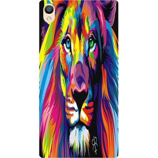 Amagav Back Case Cover for Lyf Water 8 306-LfyWater8