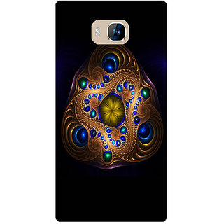 Amagav Printed Back Case Cover for Lyf Wind 2 372LfyWind2