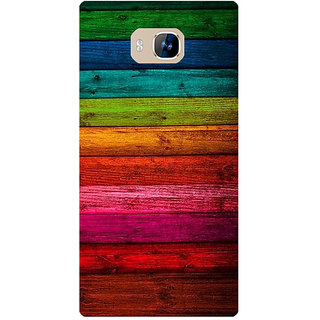 Amagav Printed Back Case Cover for Lyf Wind 2 382LfyWind2