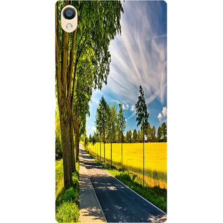 Amagav Back Case Cover for Lyf Water 8 53-LfyWater8