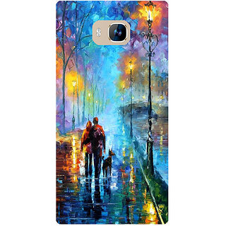 Amagav Printed Back Case Cover for Lyf Wind 2 564LfyWind2