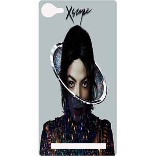 Amagav Printed Back Case Cover for Lava X17 205LavaX17