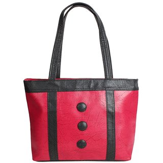 D-ROCK Pink Solid/Plain Casual Handbag