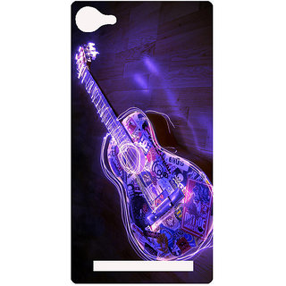 Amagav Printed Back Case Cover for Lyf Wind 1 468LfyWind1
