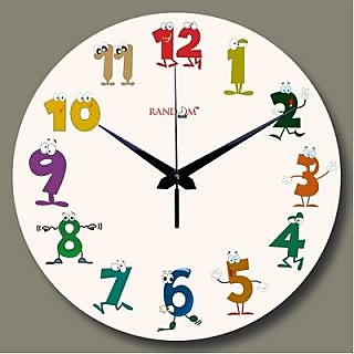 Random Funny Numbers Wall Clock In India Shopclues Online