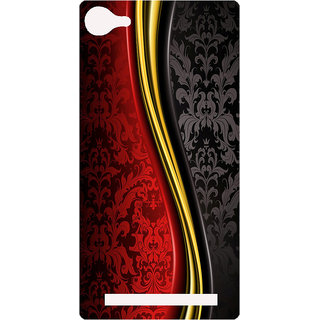 Amagav Printed Back Case Cover for Lyf Wind 1 316LfyWind1