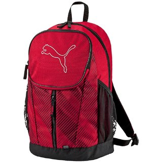 Puma Red Back Padding  Backpack