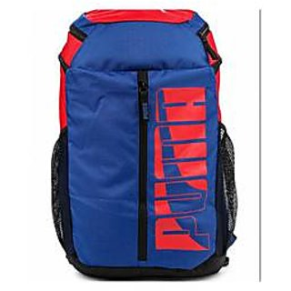 Puma Blue Back Padding  Backpack