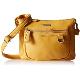 Lavie Dover Yellow Sling Bags(Slca863076B2): Buy Lavie Dover ...