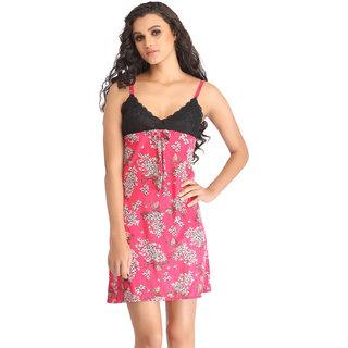 a25ae1d4c94 Buy Clovia Pink Satin Plain Babydolls Online - Get 75% Off