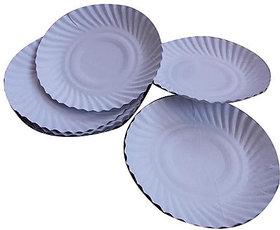 Disposable Fiber Paper Plate