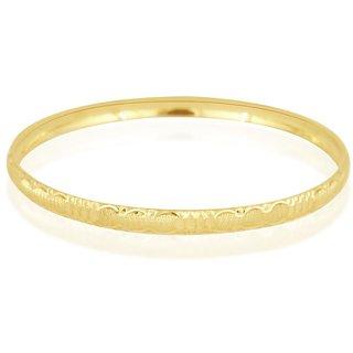 Vivaaha Rhodium Plated Yellow Sterling Silver Bangle For Women-GF23978
