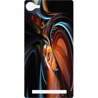 Amagav Printed Back Case Cover for Lava A76 252LavaA76