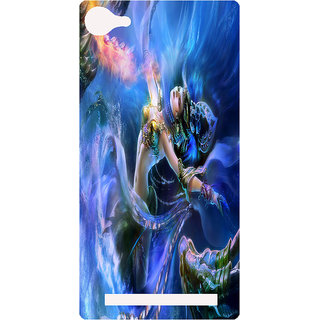 Amagav Printed Back Case Cover for Lava A76 290LavaA76