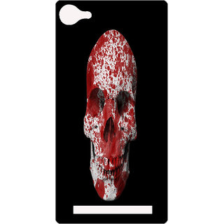 Amagav Printed Back Case Cover for Lava A76 30LavaA76