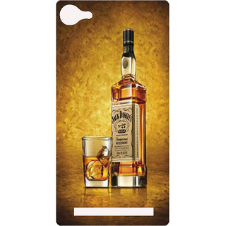 Amagav Printed Back Case Cover for Lyf Wind 1 8LfyWind1