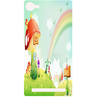 Amagav Printed Back Case Cover for Lava A76 291LavaA76