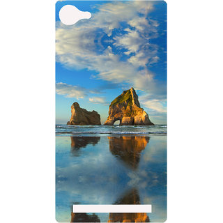 Amagav Printed Back Case Cover for Lava A76 629LavaA76