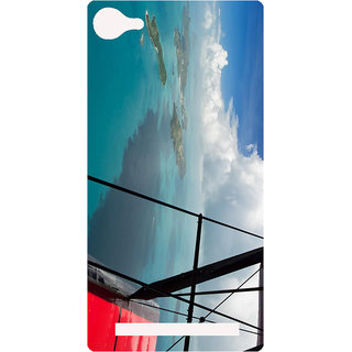 Amagav Printed Back Case Cover for Lava A76 634LavaA76