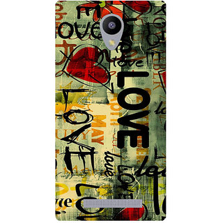 Amagav Printed Back Case Cover for Lyf Flame 5 127LfyFlame5