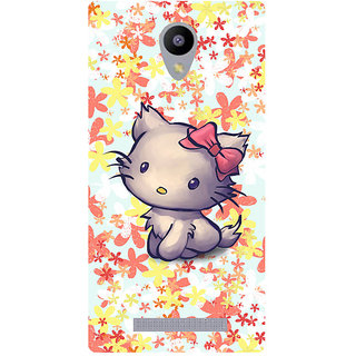 Amagav Printed Back Case Cover for Lyf Flame 5 128LfyFlame5
