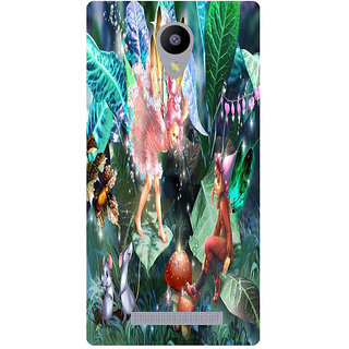 Amagav Printed Back Case Cover for Lyf Wind 3 152LfyWind3