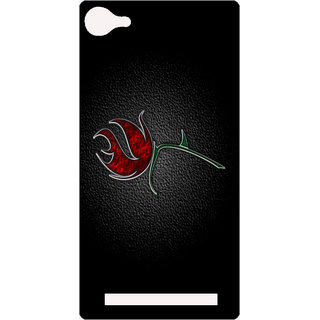 Amagav Printed Back Case Cover for Lyf Flame 8 469-LfyFlame8