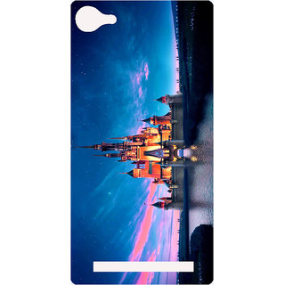 Amagav Printed Back Case Cover for Lyf Flame 8 489-LfyFlame8
