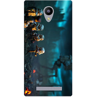 Amagav Printed Back Case Cover for Micromax Canvas Pace 4G Q416 517MmPace4G-Q416