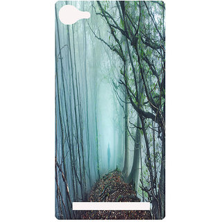 Amagav Printed Back Case Cover for Lyf Flame 8 72-LfyFlame8