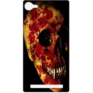 Amagav Printed Back Case Cover for Lyf Flame 8 31-LfyFlame8