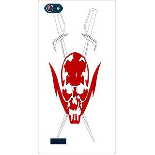 Amagav Printed Back Case Cover for Lava X50 125LavaX50