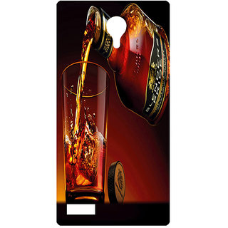 Amagav Printed Back Case Cover for Lyf Flame 7 219LfyFlame7