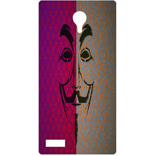 Amagav Printed Back Case Cover for Lyf Flame 7 333LfyFlame7