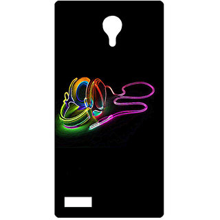 Amagav Printed Back Case Cover for Lyf Flame 7 347LfyFlame7