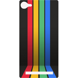 Amagav Printed Back Case Cover for Lyf Flame 8 552-LfyFlame8