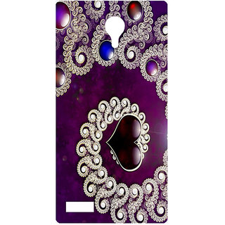 Amagav Printed Back Case Cover for Lyf Flame 7 554LfyFlame7