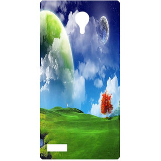 Amagav Printed Back Case Cover for Lyf Flame 7 283LfyFlame7