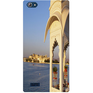 Amagav Printed Back Case Cover for Lava X50 223LavaX50